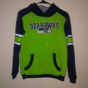 NFL Team Apparel Youth Large Seahawks Pullover